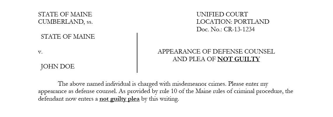 Misdemeanor Charges In Maine You Might Never Need To Go Court