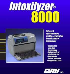 Intoxilyzer 8000 brochure cover